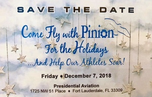 Come Fly with Pinion! Holiday Event