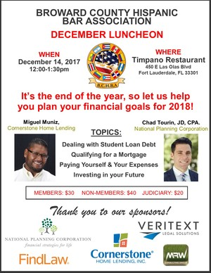 BCHBA December Luncheon