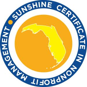Florida Assn. of Nonprofits\' Sunshine Certificate in Nonprofit Management