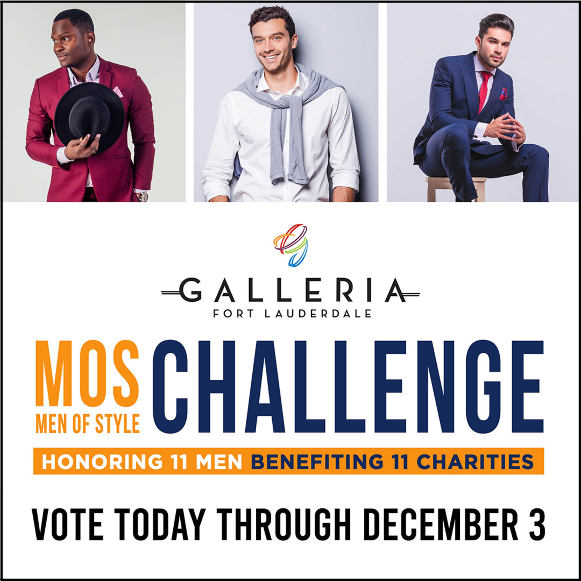 THE GALLERIA'S 14TH MEN OF STYLE CHALLENGE; ANNUAL EVENT GOES VIRTUAL FOR 2020