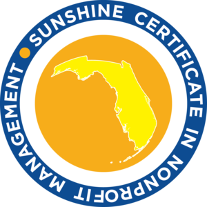 Florida Nonprofit's Sunshine Certificate in Nonprofit Management