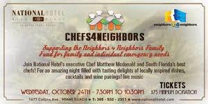 National Hotel  Miami Beach Chefs4Neighbors benefits Neighbors4Neighbors
