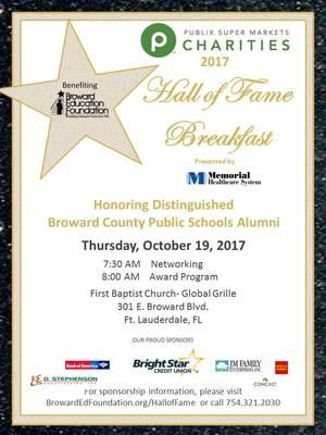 Broward Education Foundation 2017 \