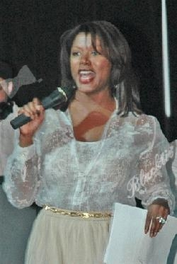 Trina Robinson WTVJ (NBC Channel 6) Meteorologist, Master of Ceremonies for Hurricane Cook-off