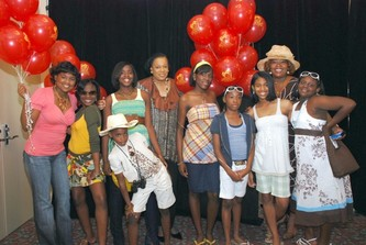 "April 18, 2007 5th Annual ""HATS OFF"" Benefits Honey Shine Mentoring Program"