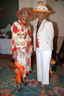 Antonia Williams-Gary, Executive Director AM Charities & Edith Pearson, Regional Development Director, United Negro College Fund, Inc.,