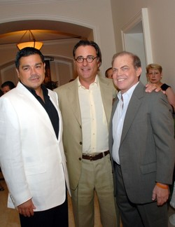 August 11, 2007 Andy Garcia Opens RUMBAR at the Ritz-Carlton, Key Biscayne