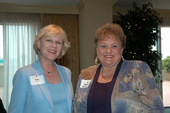Pam Masters and Anne Ahrens