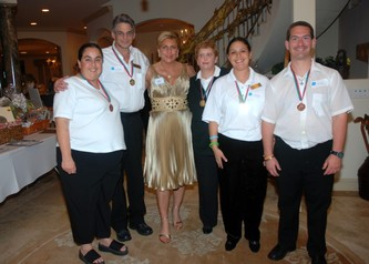 December 21, 2007 PINION Annual Holiday Party for Special Olympics Broward