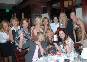 "October 09, 2008 PINION ""Champagne & Chocolates"" at The Capital Grill"