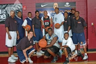 TOC Coaches with Maurice Evans LA Lakers & James Jones Phoenix Suns
