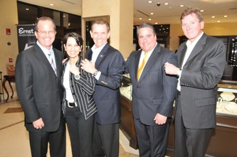 "February 03, 2010 Levinson Jewelers & Ernst Benz ""Super"" Game Day Chalk Talk"