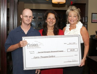 June 06, 2010 PINION CELEBRATES A SUCCESSFUL FUNDRAISING YEAR