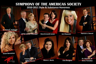 "November 30, 2010 Symphony of the Americas Society ""Style and Substance"""