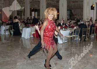 Melissa StJohn on the dance floor.