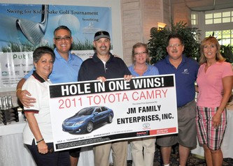 May 06, 2011 Swing for Kids' Sake Golf Tournament a BIG Success for Broward County