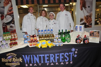 "August 16, 2011 WINTERFEST ""Culinary Students Mix & Mash Their Way To Success"""