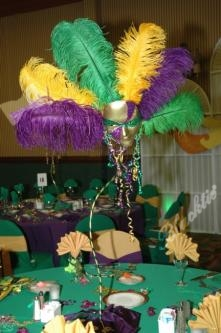 Beautiful u0026 festive Mardi Gras Carnivale table decorations & Blacktie | Photos | Beautiful u0026 festive Mardi Gras Carnivale table ...