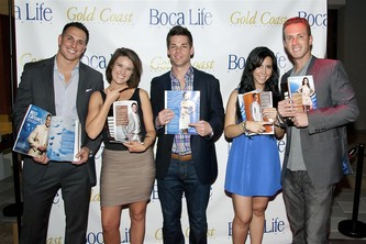 January 26, 2012 Gold Coast Magazine Celebrates 'The Best Catches' at Launch Party.
