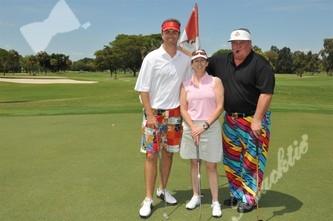 christine speedy charity golf team
