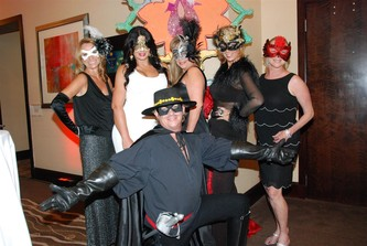 "August 26, 2012 PINION ""Summer Masquerade"" @ The Hilton Fort Lauderdale Beach"