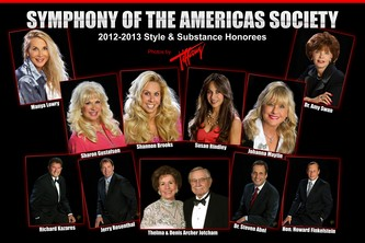 "November 27, 2012 Symphony of the Americas Society ""Style & Substance"""